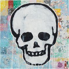 Donald Baechler | Skull (2008) | Available for Sale | Artsy