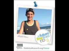 A Future Free from T1D - Matthew
