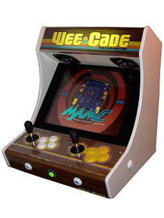 Project MAME & WeeCade - Building a MAME Cabinet - Bartop or fullsize