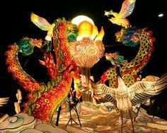 Paper lantern festival in Seoul Korea.