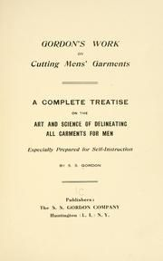 The American garment cutter; a complete, practical, up-to-date treatise on the cutting of men's garments according to the latest and most approved method : [Regal, Samuel] 1866- [from old catalog] : Free Download & Streaming : Internet Archive