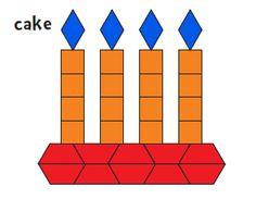 Pattern Block Templates from Jessica's Corner of Cyberspace Pattern Block Templates, Pattern Blocks, Free Pattern, Fun Math Games, Math Activities, Preschool Rules, Math Patterns, Wooden Pattern, Math Art