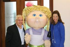 Israel and Canada Diplo Reps...and a Cabbage Patch Kid! Who said diplomacy was dull? #GAVIPTour @cpkusa