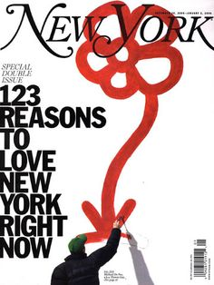 New York Magazine. Everyone else plays catch up.