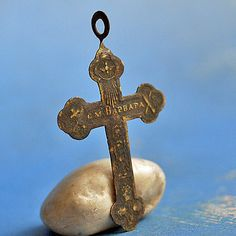 vintage cross...  JEWELRY...  Jul 54 by CoolVintage on Etsy, $23.50