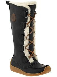 If winter ever decides to arrive, I'll wear these. Sorel Chugalug Tall.