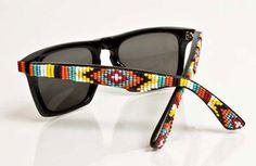 Navajo beaded ray bans. I want these!