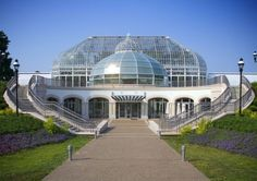 Phipps Conservatory and Botanical Gardens Welcome Center in Pittsburgh, United States