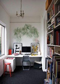 desk algues walls screen