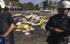 Dos bombas estallaron en la capital turca y mataron a un total de 86 personas que participaban en una manifestación por la paz