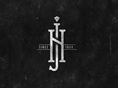 Ideas Jewerly Logo Design Style For 2019 Monogram Design, Monogram Logo, Lettering Design, Design Letters, Jewelry Logo, Jewelry Branding, Corporate Branding, Logo Branding, Compagnie Logo
