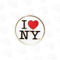 I LOVE NY Anstecknadel Pin #I-LOVE-NY #NewYork #NY #Pin #Anstecknadel