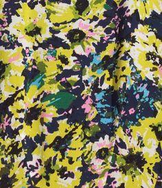 brush stroke floral H&M