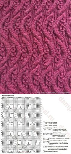 Excellent Images aran Knitting Stitches Ideas Knitters know that whenever you handle a task, it is recommended to expect you'll find out a little something . Aran Knitting Patterns, Knitting Stiches, Cable Knitting, Knitting Charts, Easy Knitting, Knitting Designs, Knitting Needles, Knit Patterns, Knitting Projects