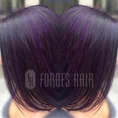 Custom Color | Purple Highlights