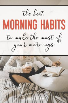 These are the best morning habits to make the most of your morning! If you spend time creating a healthy morning routine, you'll have more motivation and inspiration all day long! Source by SpikedParenting nova Time Management Techniques, Time Management Tips, Healthy Morning Routine, Morning Habits, Mental Health Law, Get My Life Together, Night Routine, Life Plan, How To Get