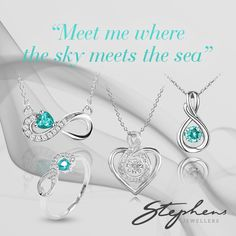 Mix and match any of the jewellery from our exclusive aquamarine birthstone collection. What is your style? Come in store or shop these styles online at http://www.stephensjewellers.com.au/brand/stephens?category=&stone_type=&metal_type=&search_query=&gender=&promotion= #Stephensjewellers #Jewellery #Gold #Rings #Aquamarine http://www.stephensjewellers.com.au/