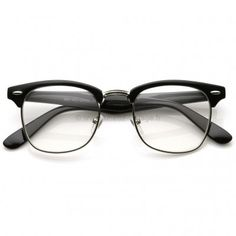 Black Friday Vintage Inspired Classic Clubmaster Nerd Wayfarers Clear Lens  Glasses from MJ Boutique. Lunette Vintage · Fausses Lunettes de vue ad65fb32211d