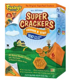 Funley's Delicious Cheddar n' Stuff SUPER CRACKERS