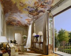 The Presidential Suite. Four Seasons, Florence.