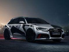 Audi RS6 Avant is Jon Olsson's New Ski Resort Cruiser