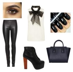"""""""Elegant"""" by unicornlena on Polyvore featuring beauty, The Row and Jeffrey Campbell"""