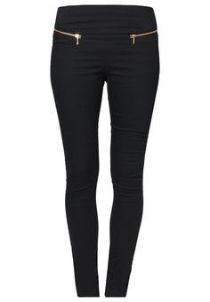 Vero Moda GELLER - Jeans Slim Fit - black - Zalando.de