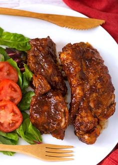 Instant Pot Country Style Ribs are delicious and easy to make. You'll get fork tender meat flavored with a spice rub, and finished with tangy barbecue sauce Pressure Cooker Chicken, Instant Pot Pressure Cooker, Pressure Cooker Recipes, Pressure Cooking, Rib Recipes, Soup Recipes, Cooking Recipes, Country Style Pork Ribs, Instant Pot Dinner Recipes