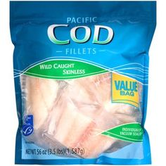Pacific Cod Fillets, 56 oz Costco Shopping List, Grocery Lists, Pacific Cod, Snack Recipes, Snacks, Tilapia, Fish And Seafood, Delish, Chips