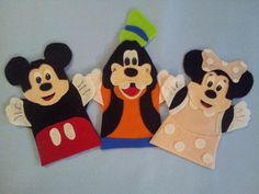 mickie ann minnie handmade puppets