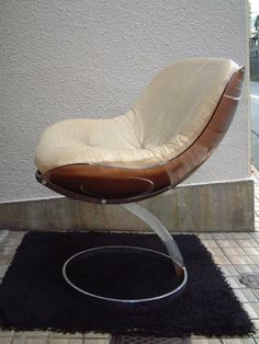 1971 Mobiller Modulaire Moderne France/Sphere Chair Design:Boris Tabacoff