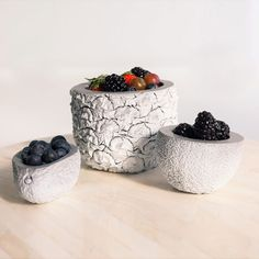 Fruit on Cement Fruit.