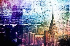 Poster | NYC SKYLINE von Vivienne Gucwa | more posters at http://moreposter.de