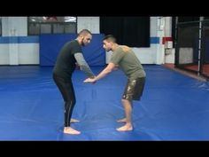 Simple and effective takedown for BJJ Fighters - Coach Firas Zahabi - YouTube