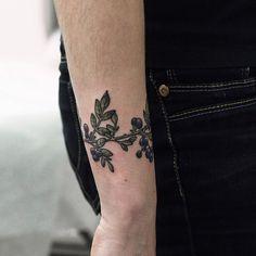 Los bonitos y florales tatuajes hechos por Olga Nekrasova. — OLGA NEKRASOVA
