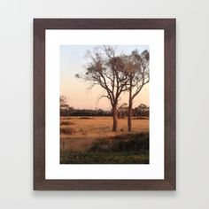 Countryside - Color Framed Art Print by Moonshine Paradise #society6 #country #nature #photography #art