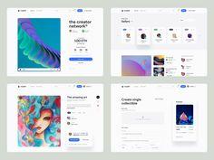 Crypter® – NFT Marketplace UI Kit – Coded Version by Tran Mau Tri Tam ✪ Directory Design, Ui Design Inspiration, Job Opening, Ui Kit, Freelance Designer, Portfolio Design, Branding Design, Custom Design, Web Design