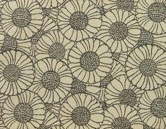 Tela de flores del oráculo. Koloman Moser