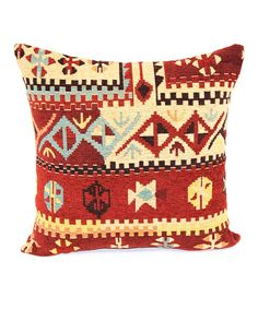 Look at this Red Dorado Throw Pillow on #zulily today!