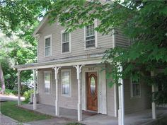 253 HIGH ST (Milford, CT 06460) - $339,900: Commuters delight. this charming antique home boasts covered front porch,separtate enties,spacious rooms, hardwood floors,original wood molding and many updates.deck overlooks tree lined back yard.walking distance to town and train, close to pkwy an - Era Property World Investment Property For Sale, Covered Front Porches, Wood Molding, Tree Line, Farm Wedding, Distance, Hardwood Floors, Shed, Deck