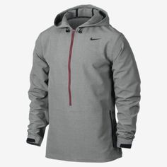 I like this, I would like brighter colors though  Nike Sweatless 3/4-Zip Woven Training Jacket