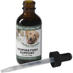 Only Natural Pet Respiratory Support Dog Cat Herbal for Canines and Felines