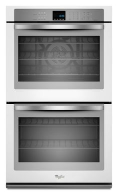 """Whirlpool 30"""" White Ice Convection Double Wall Oven (Model: WOD93EC0AH)"""