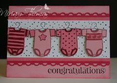 New baby cards ideas girl ipad 68 Ideas Baby Scrapbook, Scrapbook Cards, Shower Bebe, Girl Shower, Baby Girl Cards, Scrapbooking, Baby Shower Cards, Marianne Design, Congratulations Card