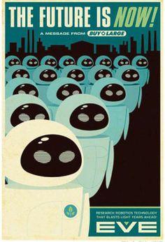 Magnificent Retro-Futurist Poster Designs