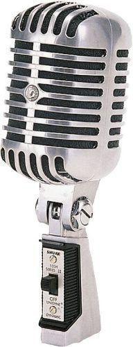 Microfone Shure 55sh Vintage Series Ii - Original !! * New * - R$ 1.768,99