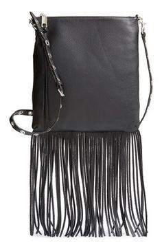 Rebecca Minkoff  Jemma  Crossbody Bag with Fringe available at  Nordstrom  Fringe Purse b6e3282996b1d