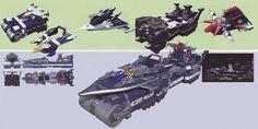 Power Rangers Operation Overdrive, Battleship, Weapons, Art, Weapons Guns, Art Background, Guns, Kunst, Weapon