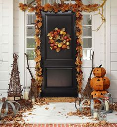 Ready to host the best Halloween party ever? Stock up on pumpkin decorations in every shape and size — glass pumpkins, orange pumpkins and gold pumpkins galore!