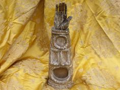 French Reliquary from the 1700's Fabulous piece by Albanegalery, $300.00